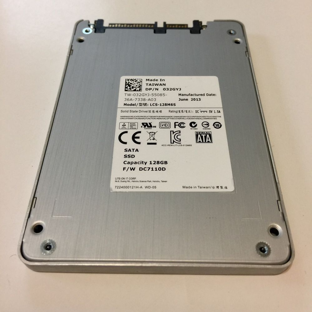 Liteon Lcs 128m6s 128gb Sata Ssd Solid State 2 5 Hard Drive Ebay Ssd Ebay Hard Drive