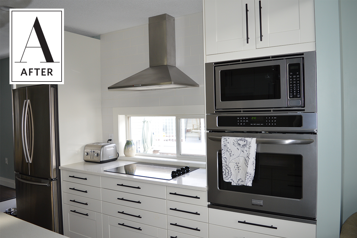 Before & After: An Unbelievable DIY IKEA Kitchen Remodel