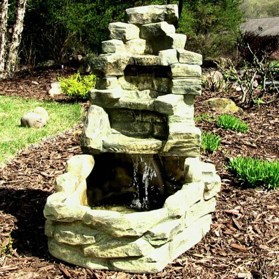 Pin di Backyard Water Fountains