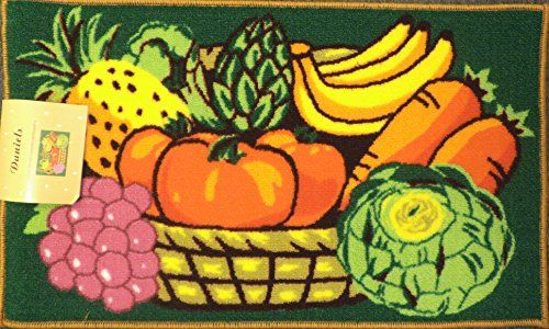 Best Kictchen Rugs | Fresh Fruit Vegetables Kitchen Rug Mat 18 X 30 *** Idea