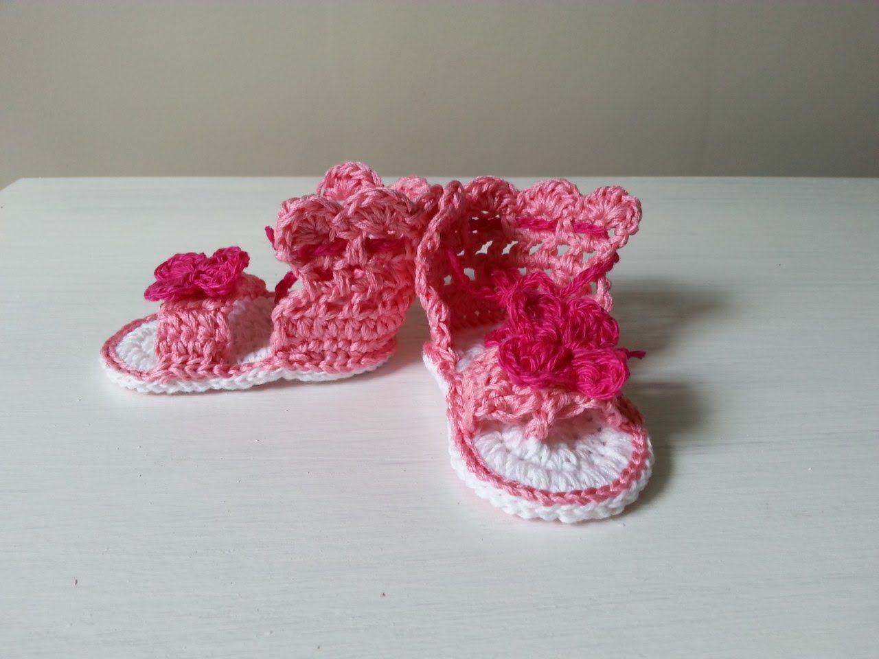Sandalki Na Szydelku Dzieciece Cz 2 3 Szydelko Crochet Videos Tutorials Crochet Tutorial Crochet Videos