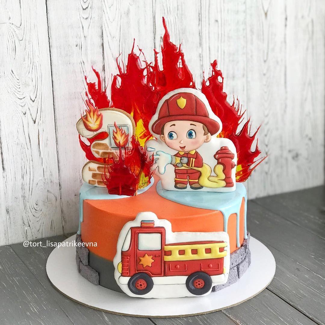 этом торт пожарная машина фото печать позволяют разбирать, отправлять