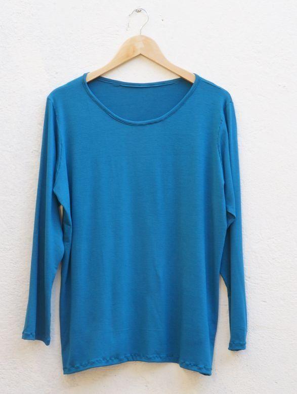9a22009eb blusa feminina básica lisa - Handmade - moda sob medida ou pronta entrega
