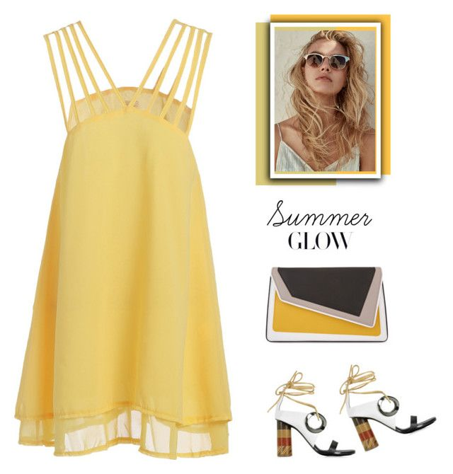 """""""Summer Glow!"""" by marialibra ❤ liked on Polyvore featuring âme moi and Proenza Schouler"""