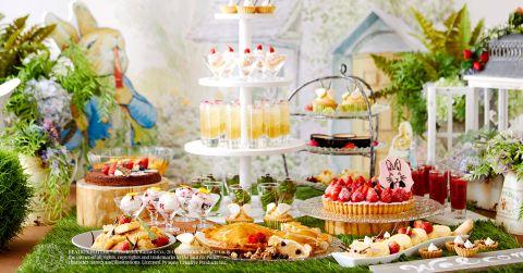 """Riassunto: Keio Plaza Hotel Tokyo tiene uno speciale buffet di dessert chiamato """"Peter Rabbit™ Hotel Carnival"""""""