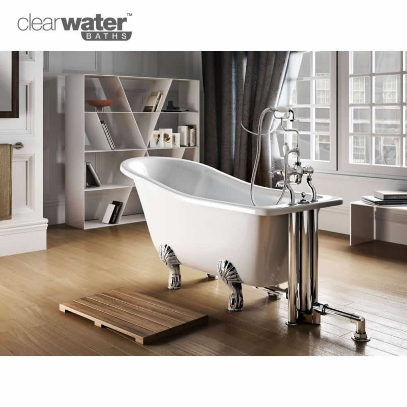 The Stunning Clearwater York Traditional Slipper Bath Make A Freestanding Bath The Centerpiece Of Your Small Freestanding Bath Bathtub Shower Stall Enclosures