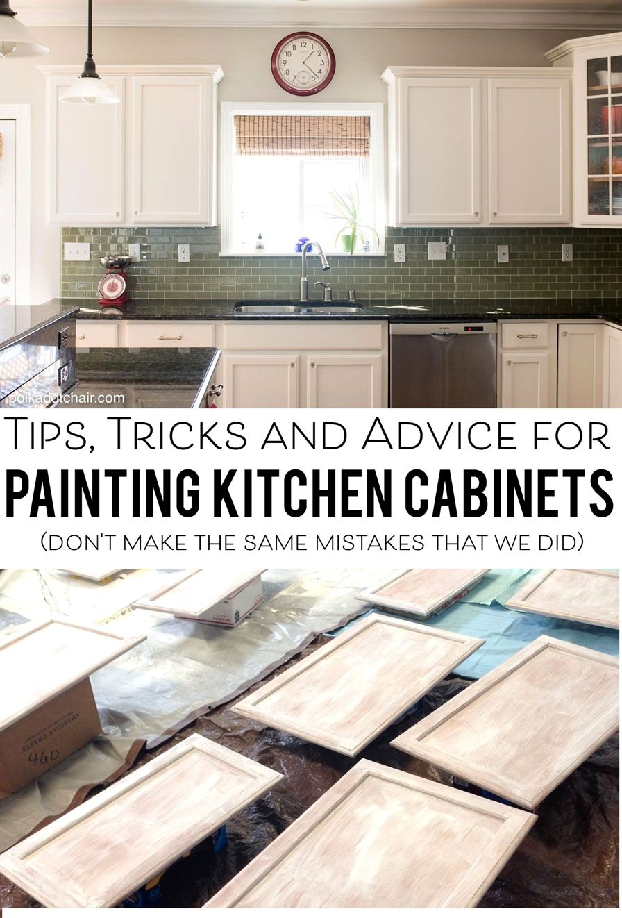 Tips and tricks and what not to do when painting your kitchen