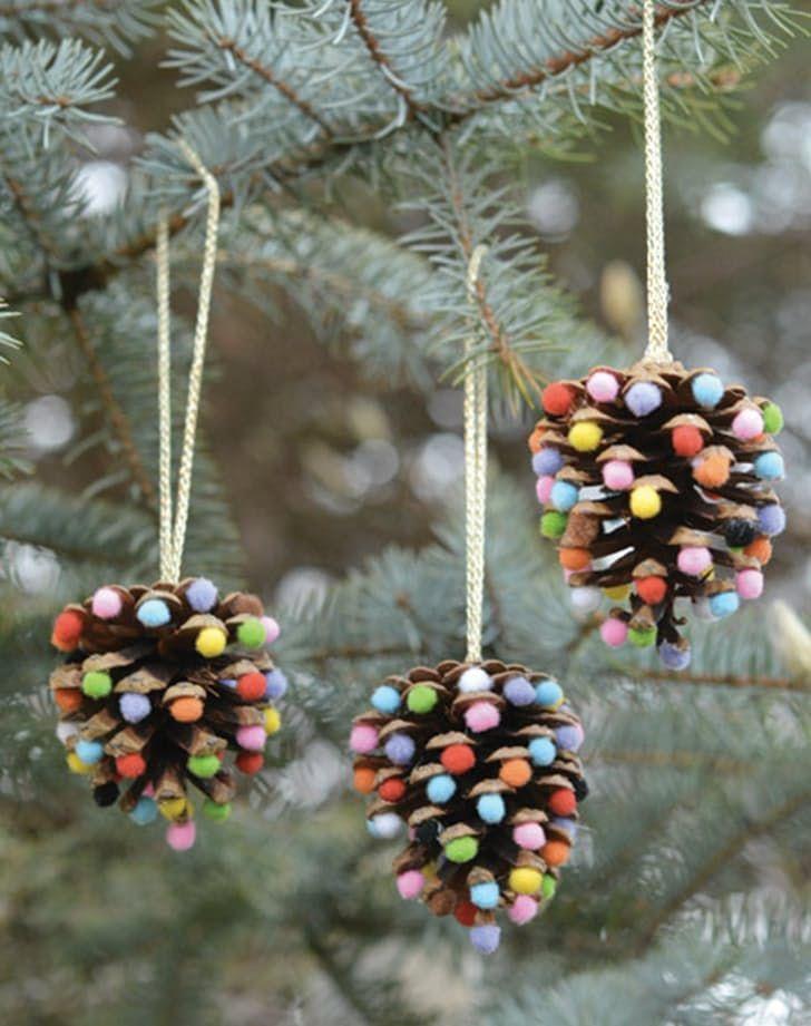 Pretty Christmas Decor You Can Make Yourself Christmas Decorations For Kids Christmas Ornament Crafts Kids Christmas Ornaments