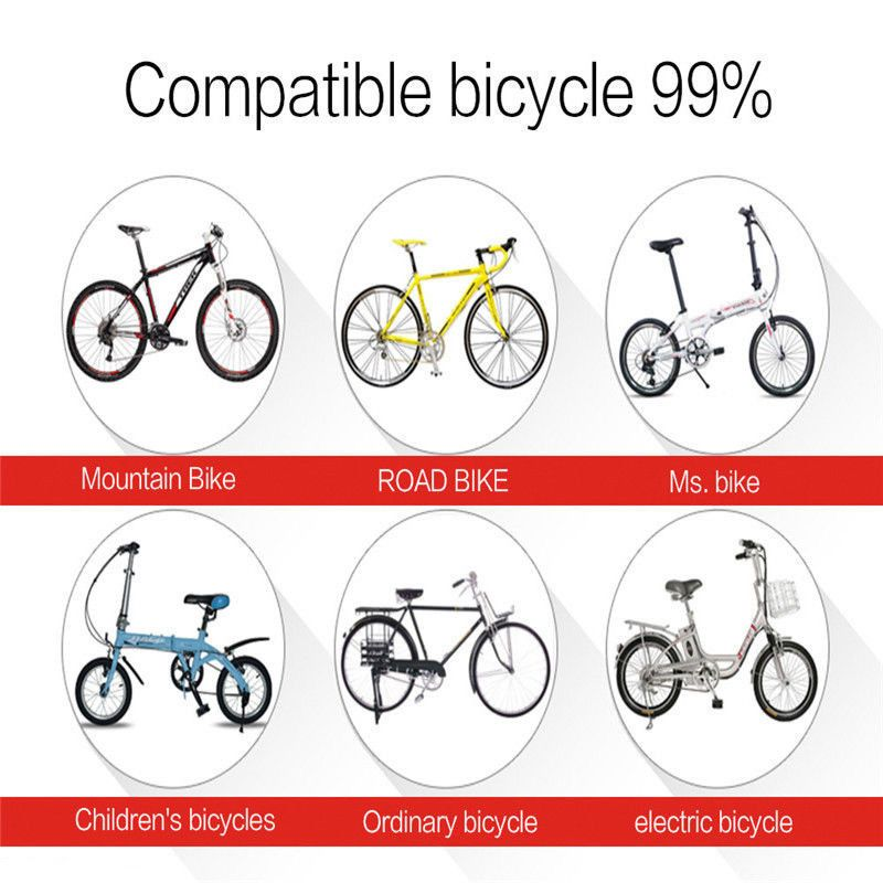 3 In 1 Fahrradalarmanlage Alarmschloss Fahrrad Lampe Rucklicht Leuchte Licht Kids Bicycle Ordinary Bicycle Electric Bicycle