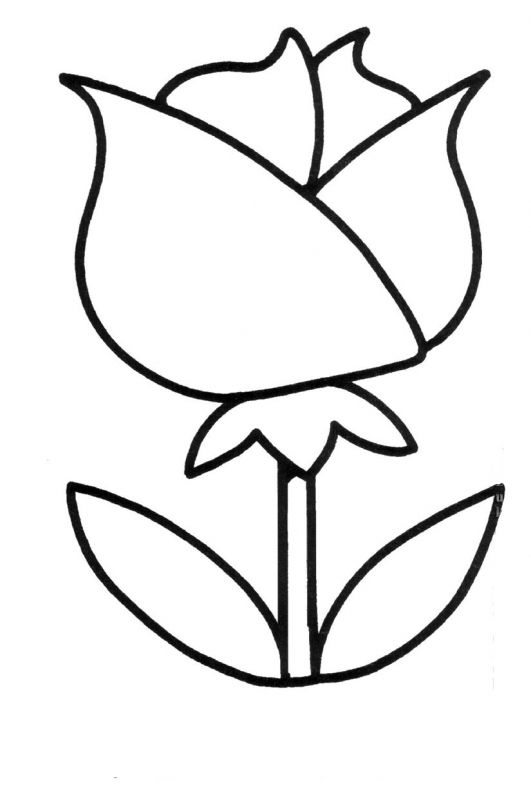 Easy Coloring Pages For 4 Year Olds Concept