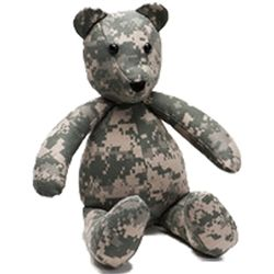Incredible Teddy Bear Made From Your Uniform Ohsay Usa Military Gamerscity Chair Design For Home Gamerscityorg