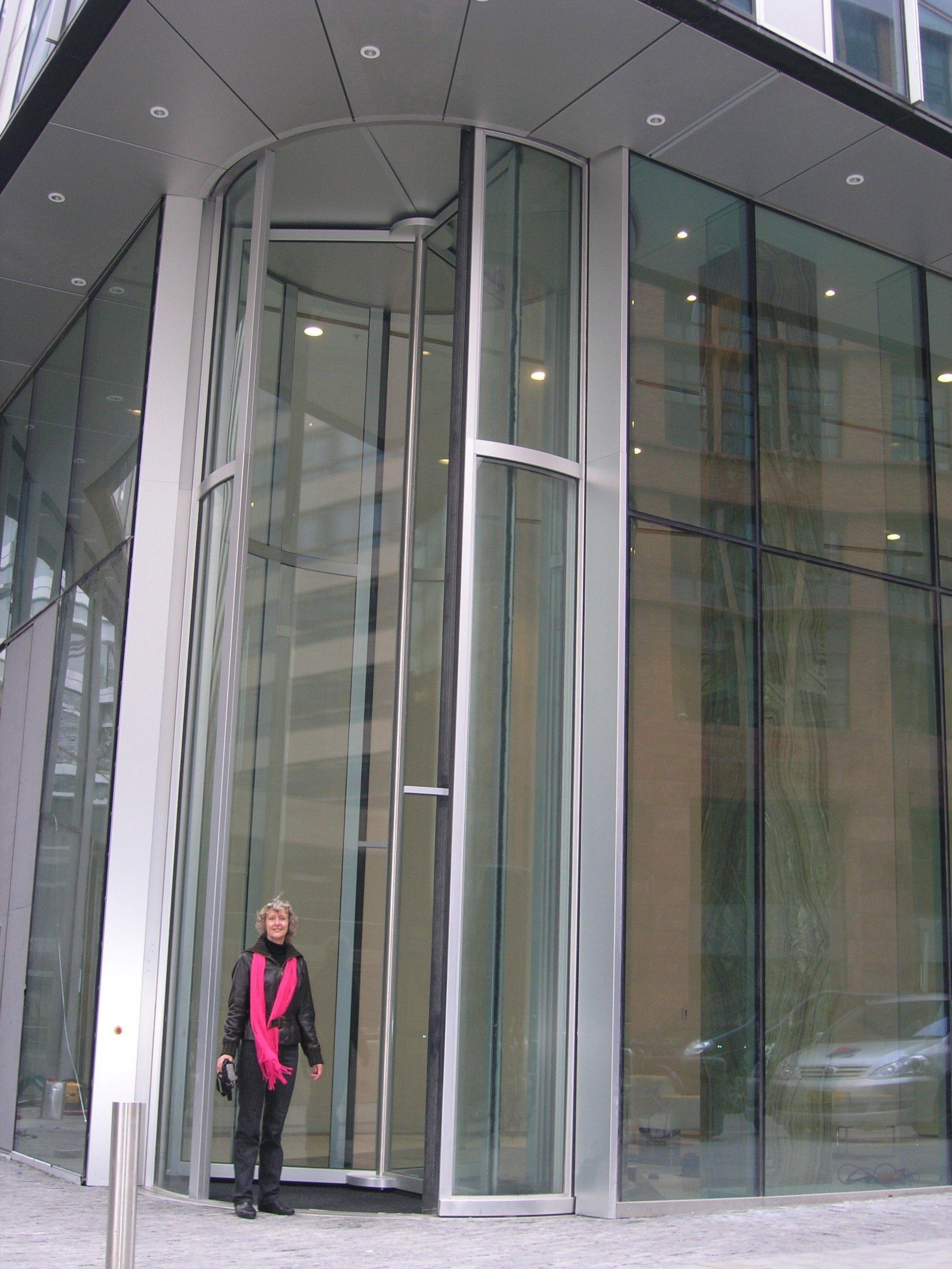 Glass Revolving Door Glass Door Ideas