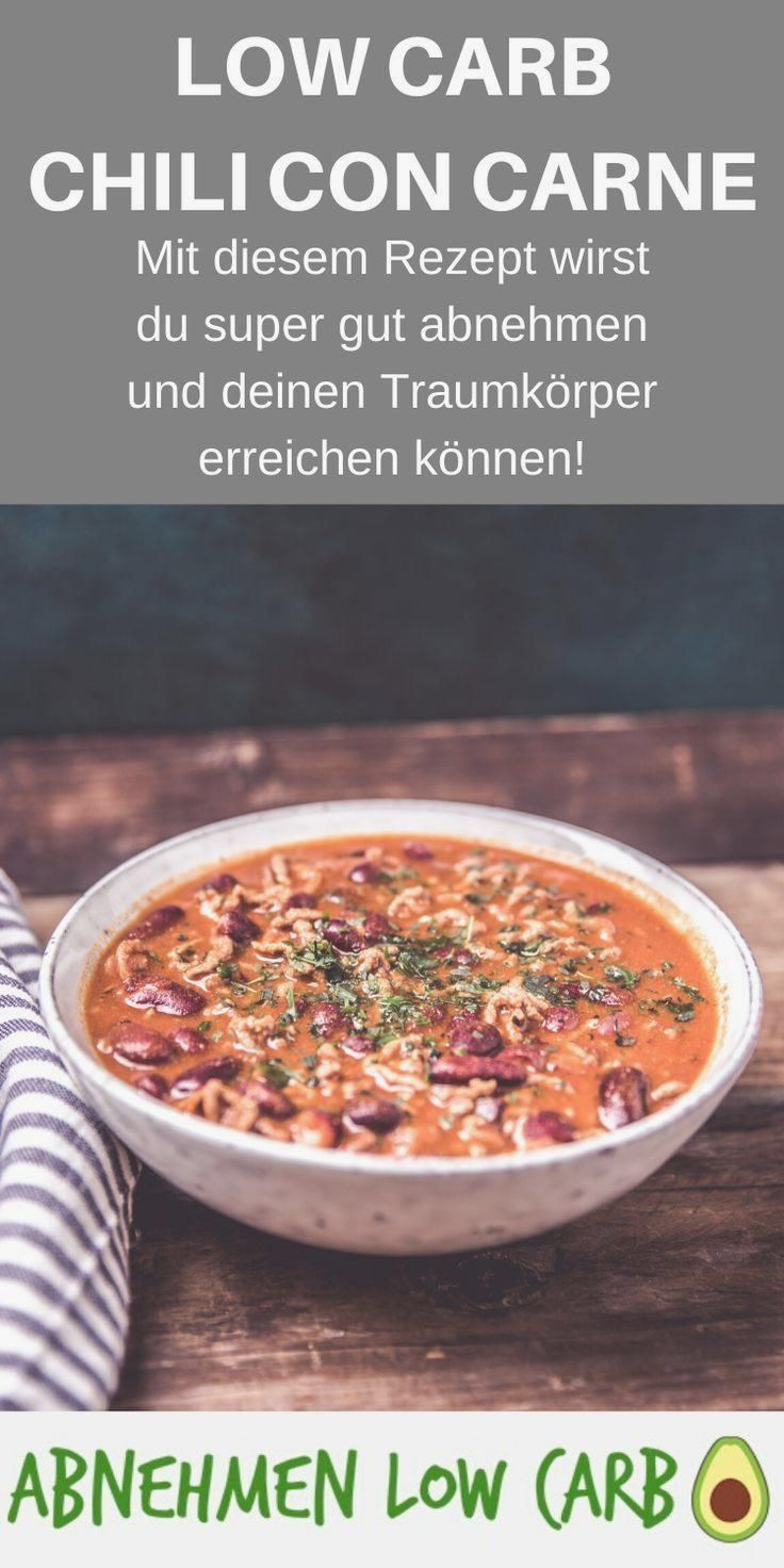 Low Carb Chili con Carne Abnehmen Low Carb #abendessen #abnehmen #fitness #fitnessabendessen