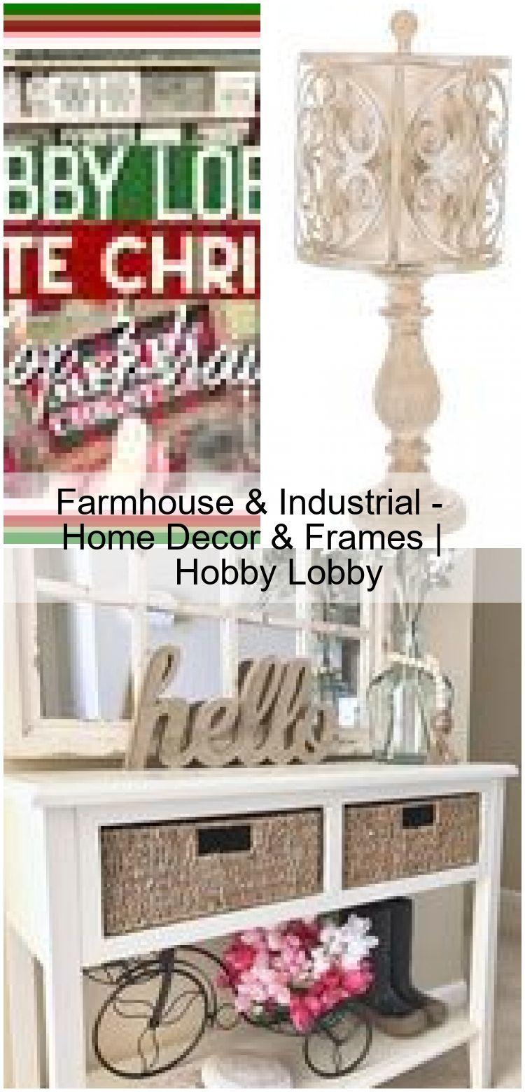 Farmhouse industrial home decor frames hobby lobby