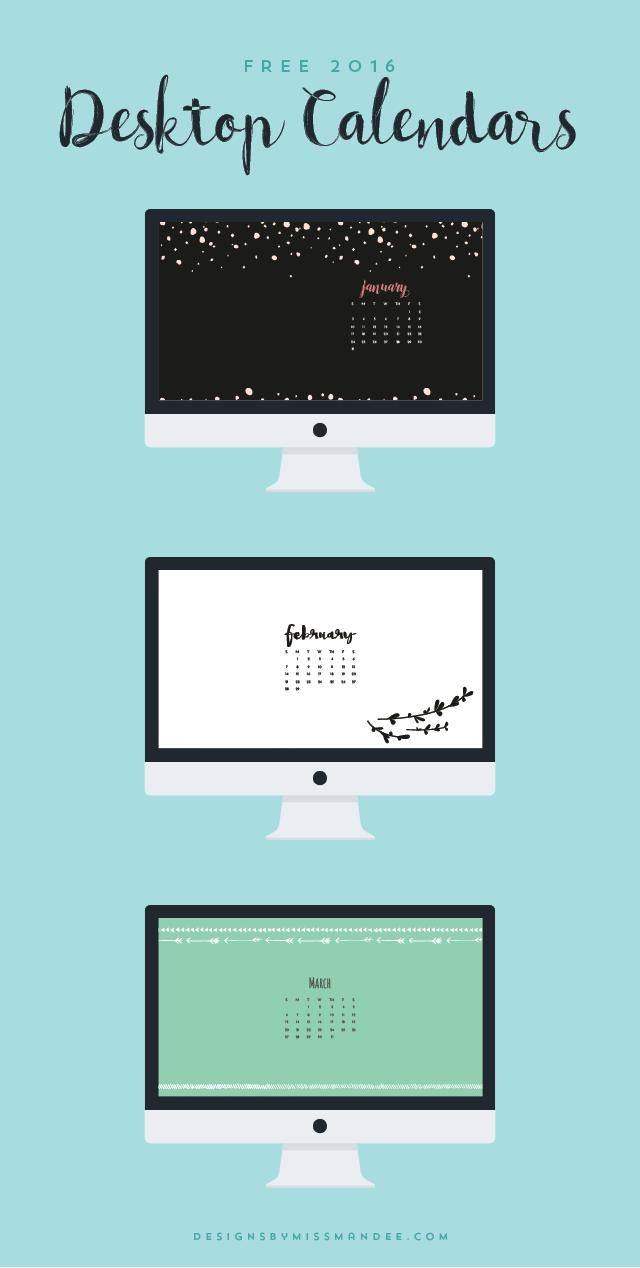 Calendar On Wallpaper Mac : Desktop calendars printables graphics pinterest