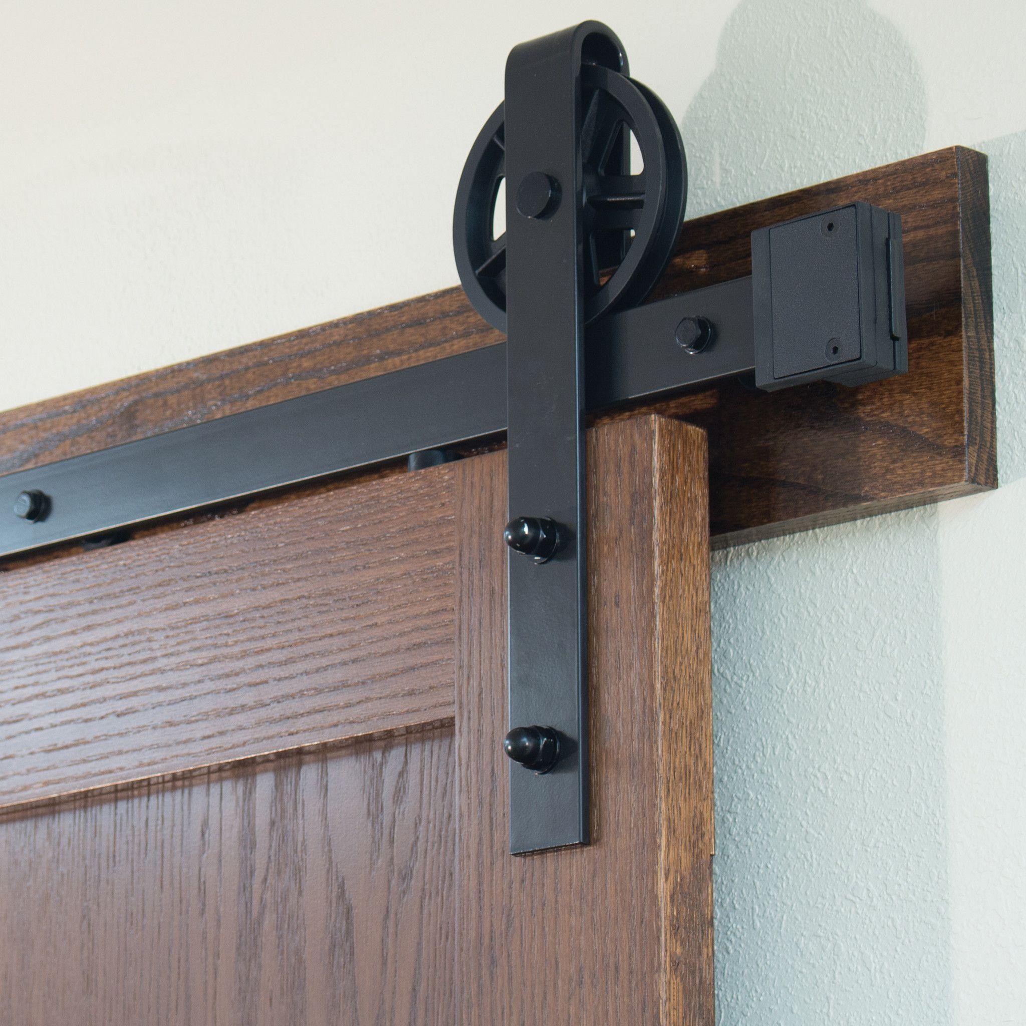 Wagon Wheel Strap Style Sliding Door Set Barn Doors Sliding Sliding Door Hardware Sliding Barn Door Hardware