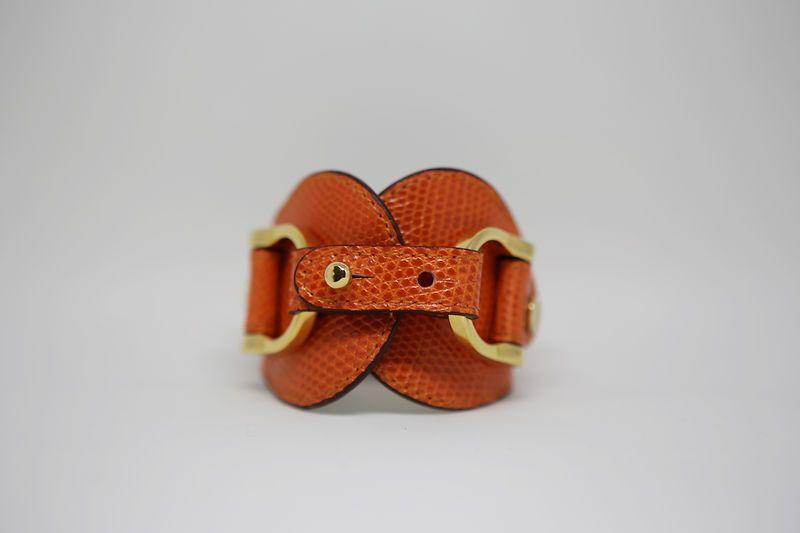 The middle Brand Cordelia Lizard Orange