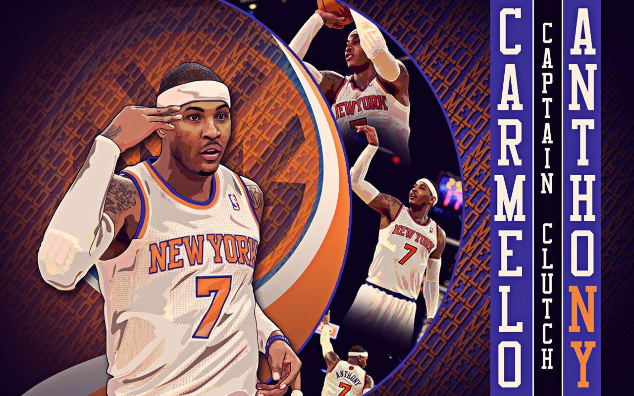 Carmelo Anthony Wallpapers Basketball Wallpapers At 1360 768 Melo Wallpapers Adorable Wallpapers Carmelo Anthony New York Knicks Anthony