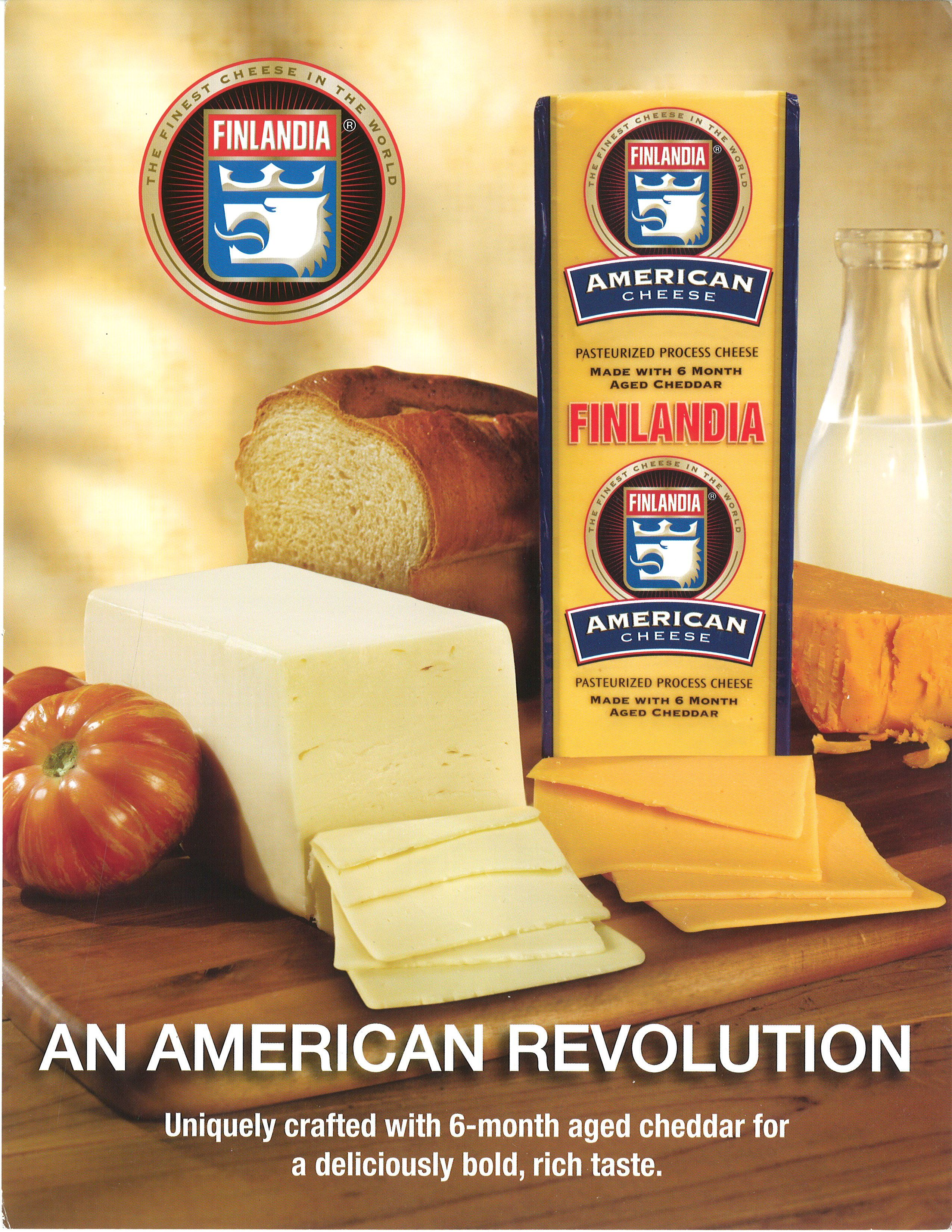 Finlandia 5 Loaf American Cheese American Cheese How To Make Cheese