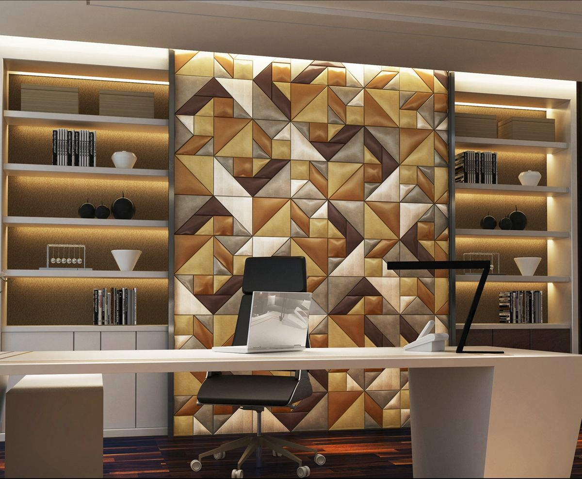 Wholesale Price Mdf Wall Panel Design 3d Texture Wall Panel From