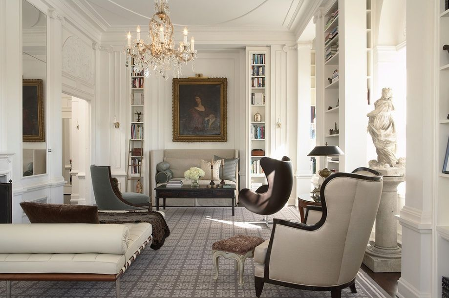 Traditional Modern Living Room Design