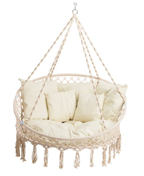 Brilliant Bliss Hammocks Indoor Outdoor Hanging Macrame Chair In 2019 Pabps2019 Chair Design Images Pabps2019Com