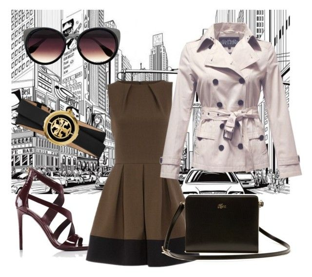 """""""Zareen's City Trench"""" by zareen-canada on Polyvore"""