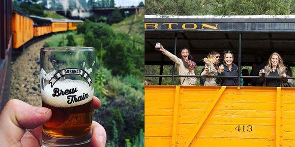 This Beer Train Takes You Through Colorado S Mountains Endless
