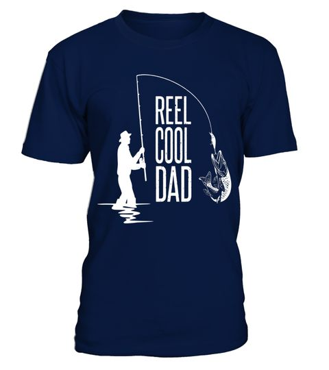 Cool Fishing Dad Shirt Funny Fathers Day Gift For Fisherman