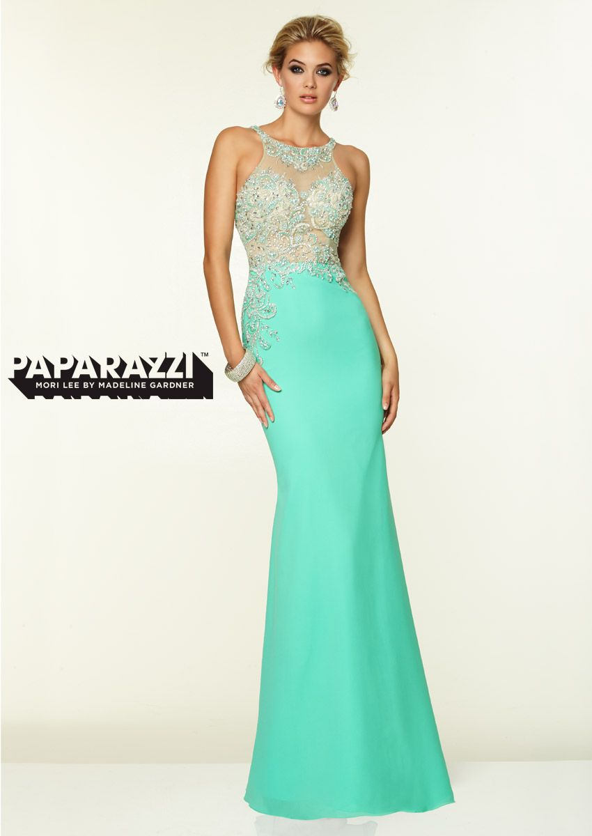 Prom Dresses Paparazzi Prom Dress Style 97046 in ivory @ Beth ...