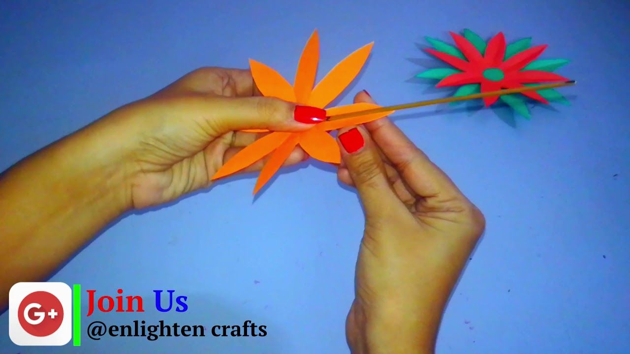 Paper Cutting Flowers Step By Step How To Make Easy Paper Cutting