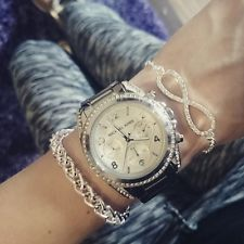 Brand new michael kors mk5165 blair white dial silver chronograph brand new michael kors mk5165 blair white dial silver chronograph womens watch gumiabroncs Choice Image