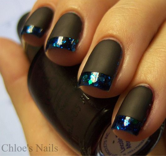 Chloe's Nails: Lippman Across the Universe Funky French..