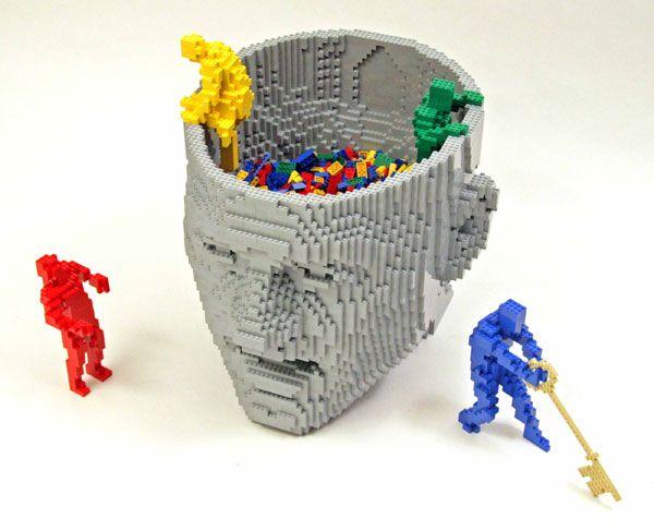 LEGO Artworks by Nathan Sawaya