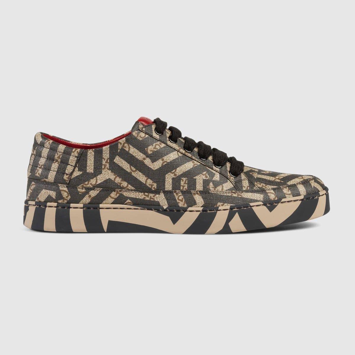 82bb17f37c684 GUCCI Gg Caleido Low-Top Sneaker - Gg Caleido.  gucci  shoes  all ...