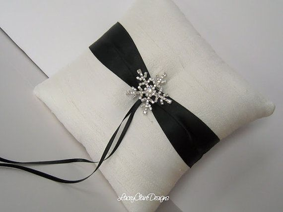 Ring Bearer Pillow Custom Wedding Ring by LaceyClaireDesigns