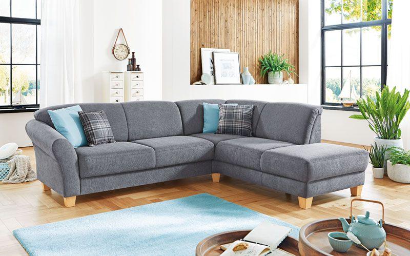 Steinpol Ecksofa Sofa Wohnzimmer Grau Mobel Mit Www