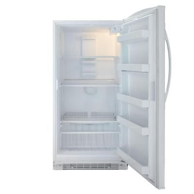 Maytag 15 8 Cu Ft Frost Free Upright Freezer In White Mqf1656tew The Home Depot Upright Freezer The Home Depot Interior Lighting