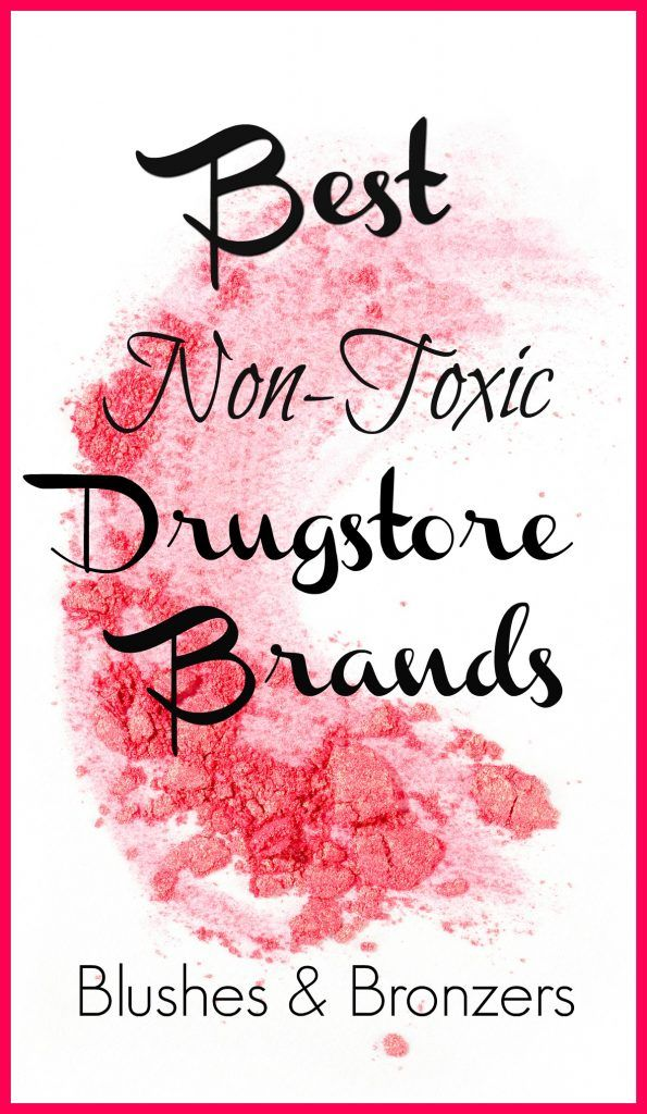 43 Best NonToxic Drugstore Makeup Brands 2020 Blush and