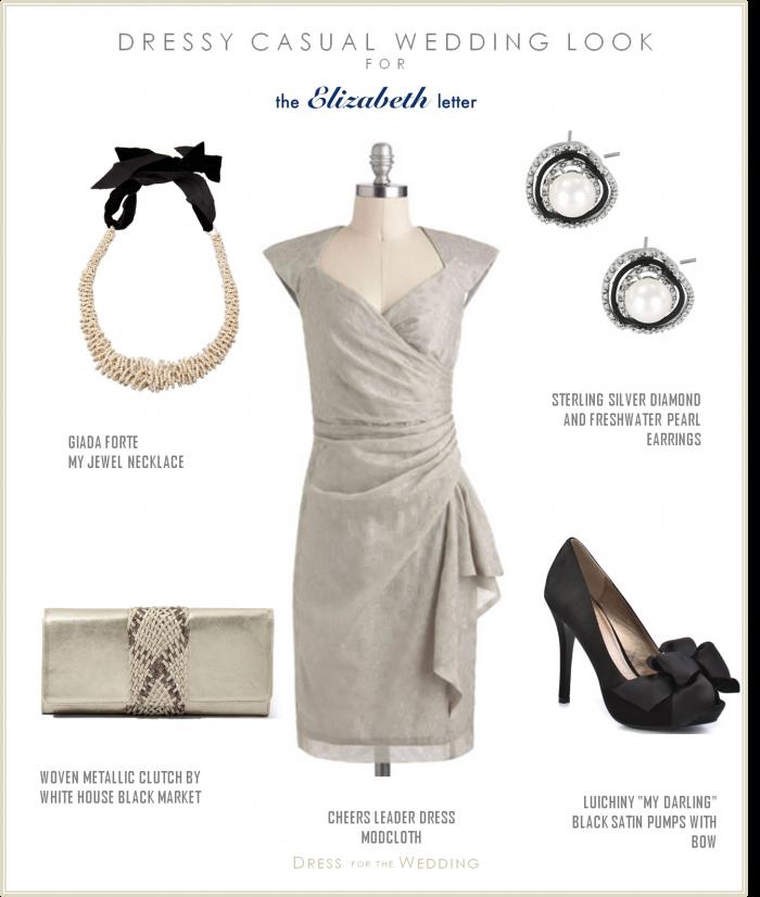 Gray Wedding Guest Dress