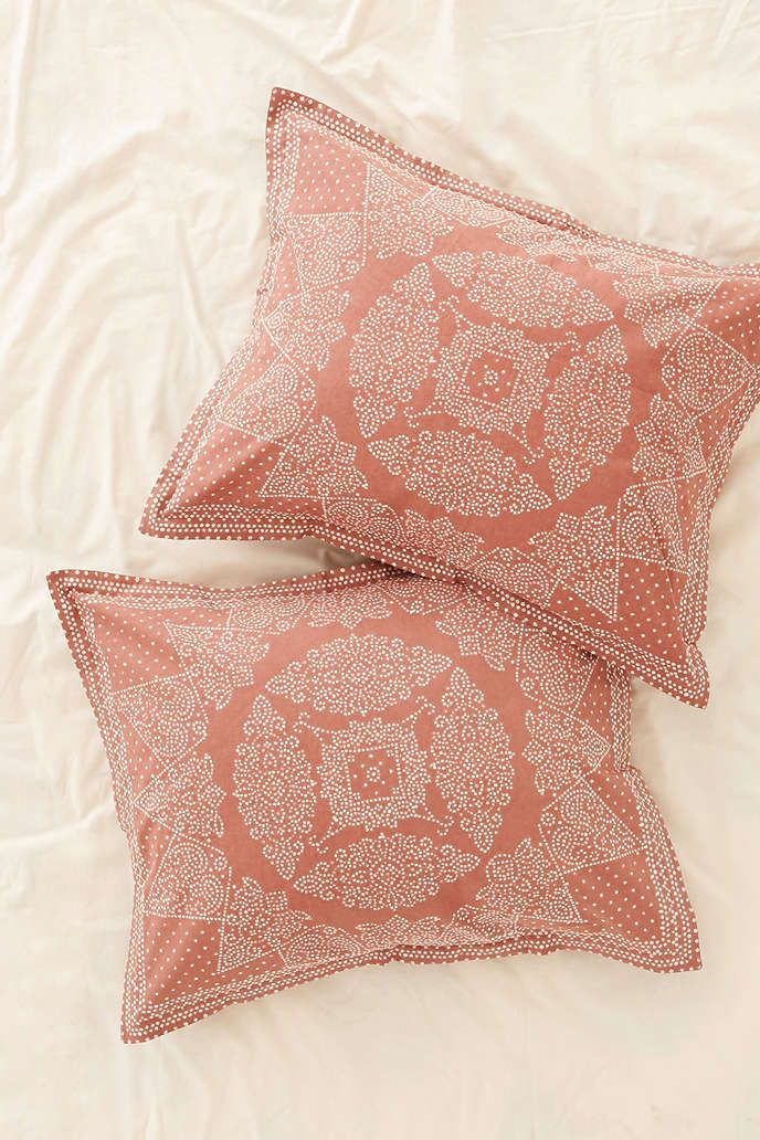 Magical Thinking Bandhani Sham Set Duvet Covers Urban Outfitters Magical Thinking Boho Style Bedding