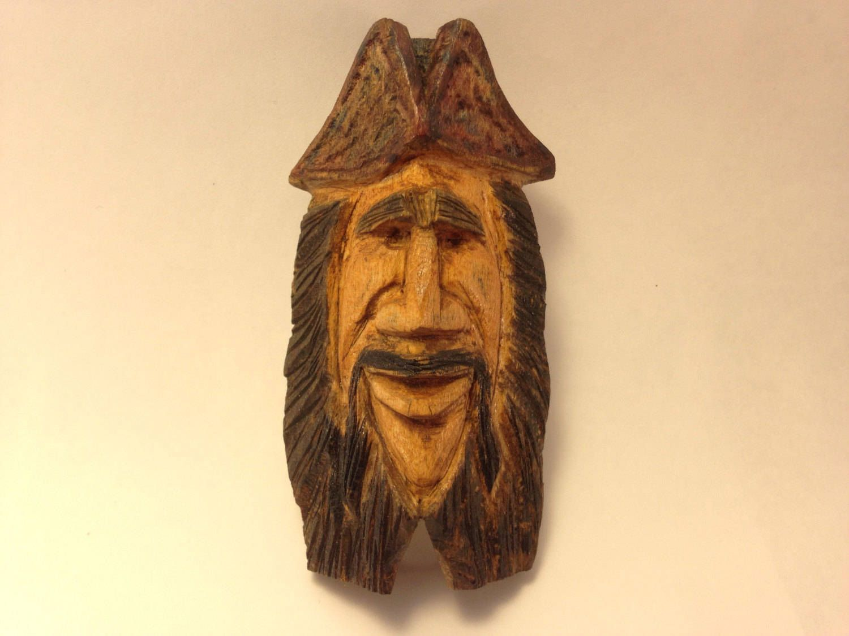 Wood Carving, Native American, Indian Sculpture, Wood Spirit, Art ...