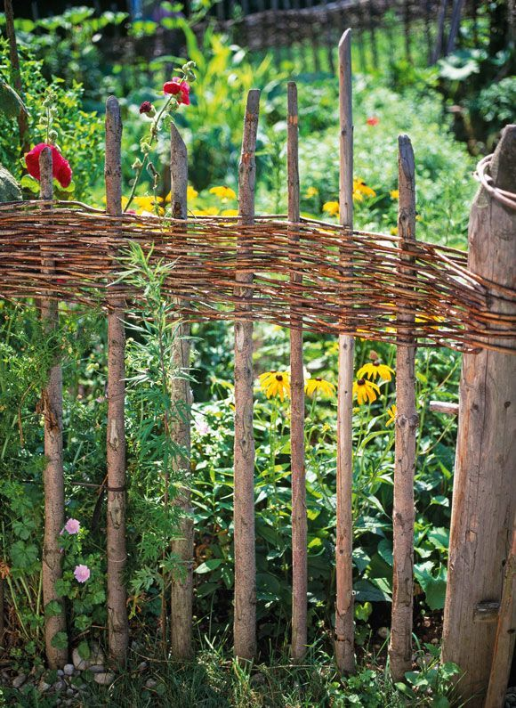 Photo of Fencing bed borders from willows – how it works!
