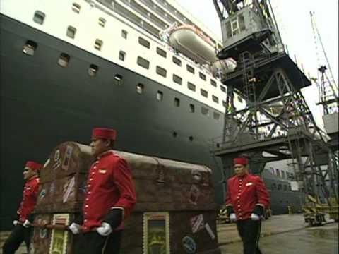 When Harry Potter and the Half-Blood Prince was released in the U.S. eight years ago today (July 16, 2005), the first U.S. edition of the book was signed by J.K. Rowling in Scotland and shipped across the ocean on the Queen Mary 2. We filmed this fun video to commemorate its journey to Scholastic HQ in New York City — this is the first time we're making the video available online, so watch and enjoy!
