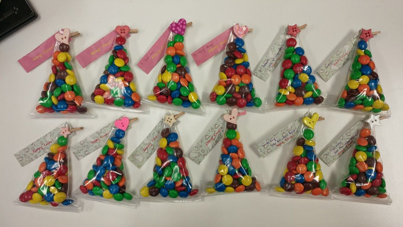 Christmas Candy Craft Ideas.Christmas Candy Craft M M Packing Using Ziplock Bag Don