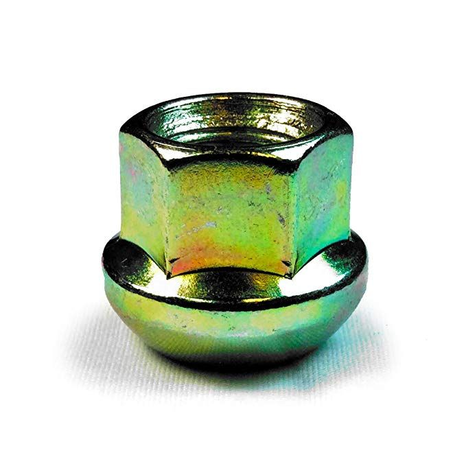 DPAccessories LOR2B8CZOGD05100 Open End Ball Seat Lug Nuts