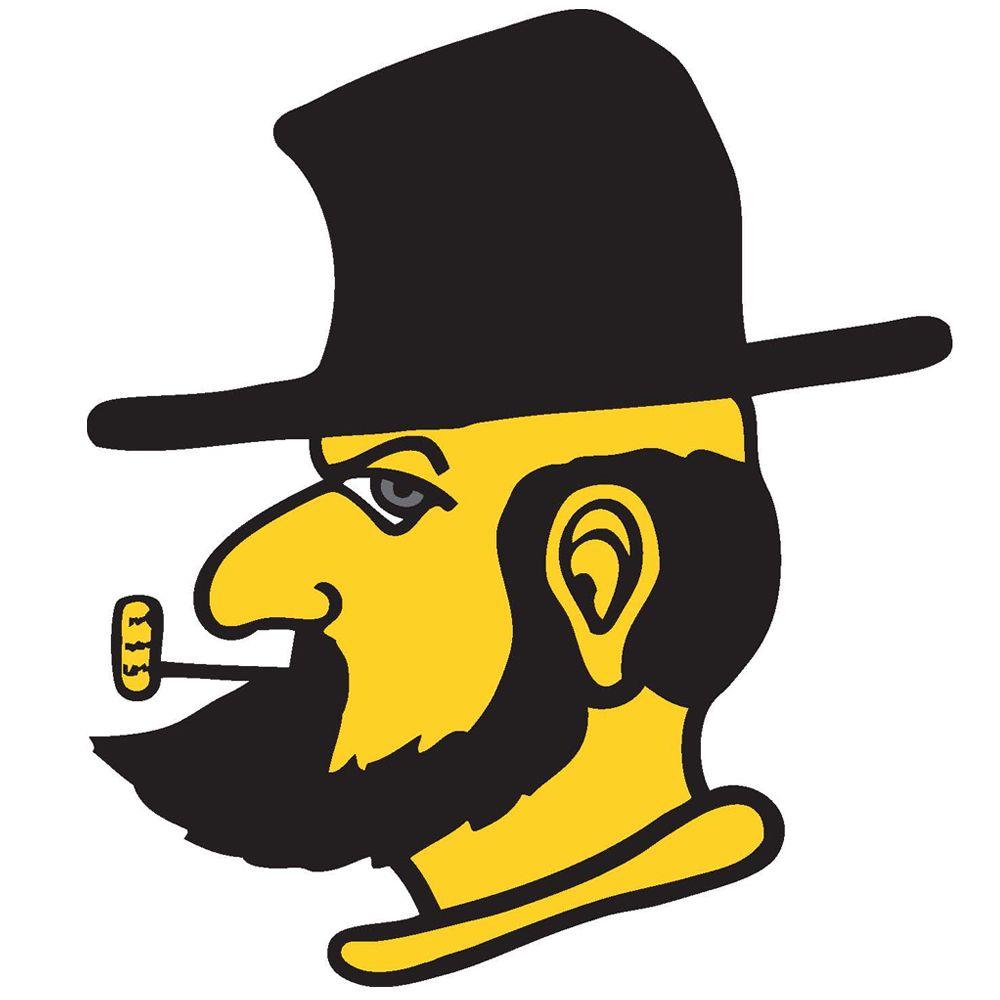 "Appalachian State 4"" Reflective Decal Yosef Logo"