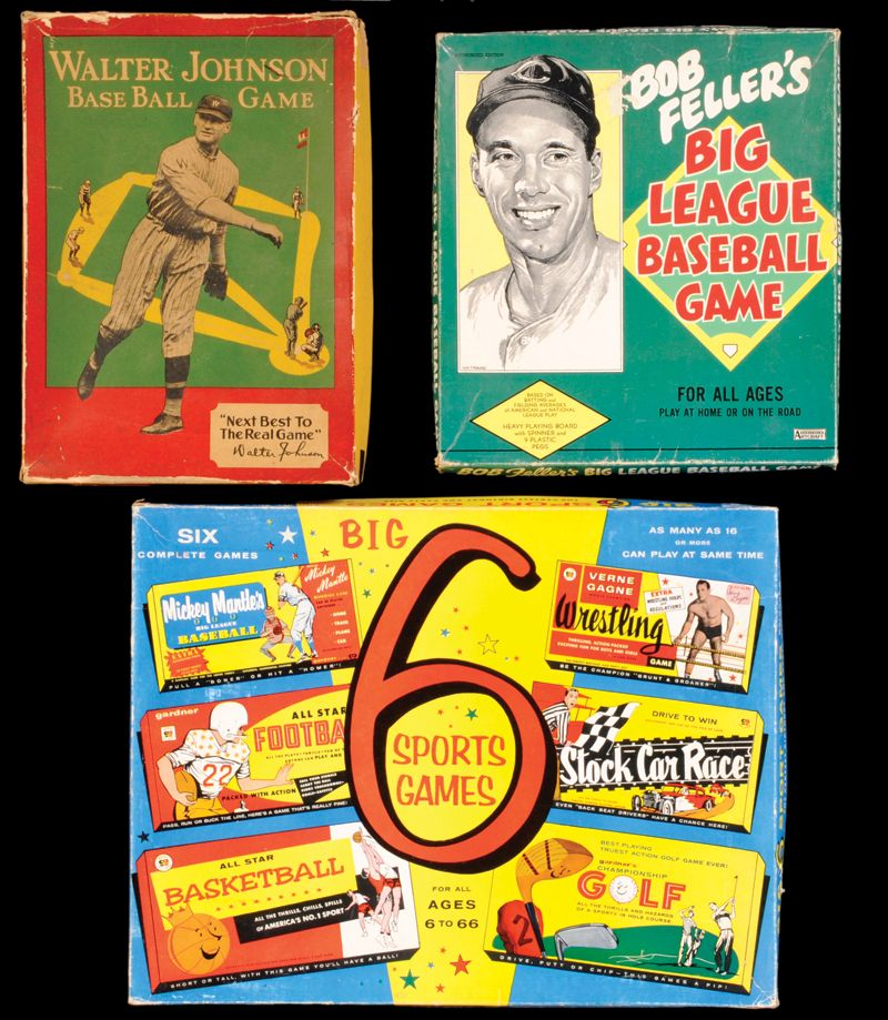 1960S Board Games 1920s1960s BaseballThemed Board