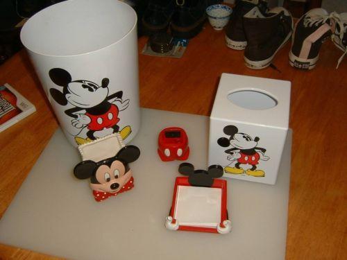 Disney Mickey Mouse Office Desk Set 5 Pcs Ebay