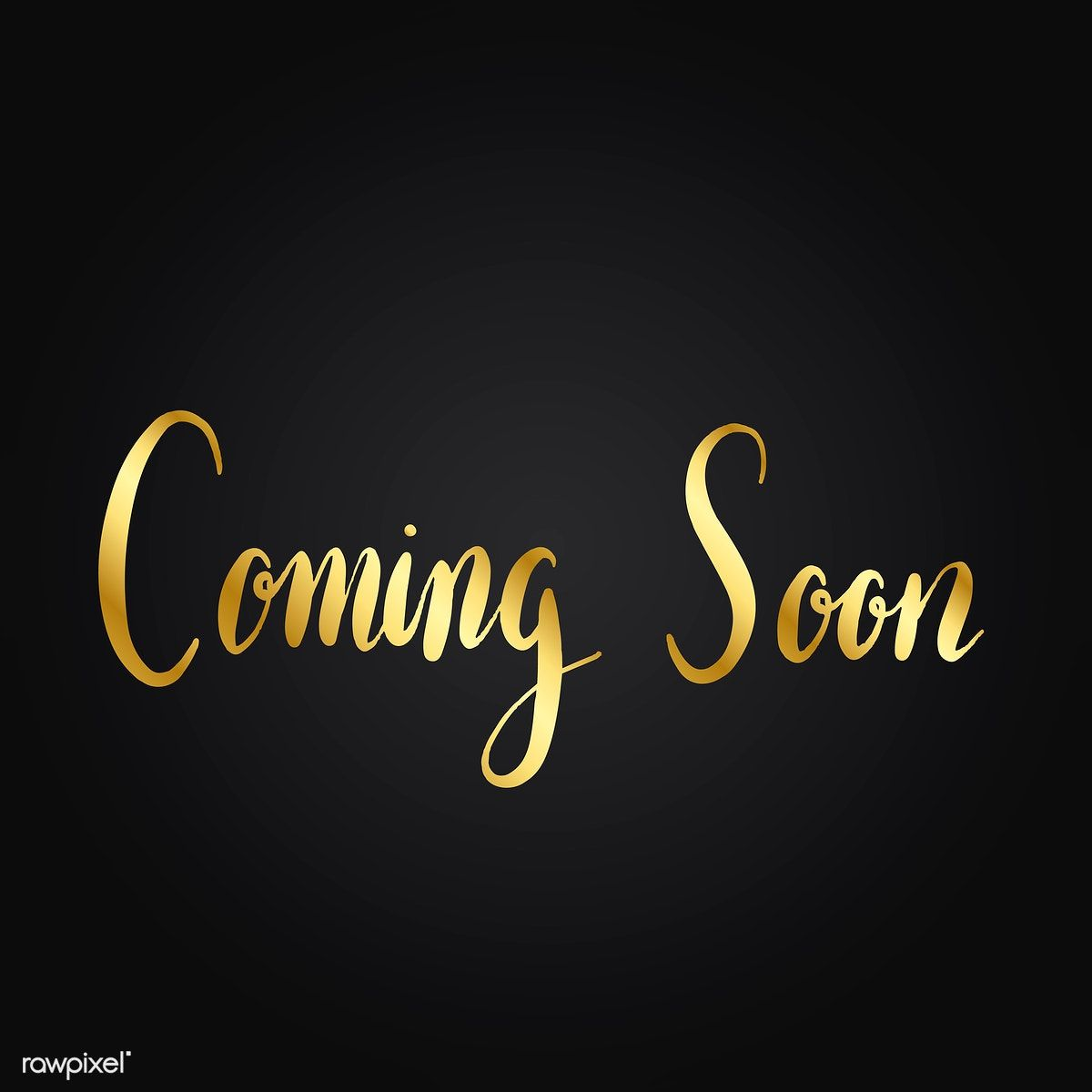 Coming soon typography style vector | free image by ...